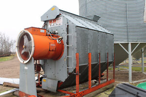 AB-8B - 120 bushel Farm Fan Grain Dryer
