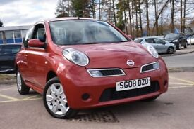 Nissan Micra 1.2 Acenta (red) 2008