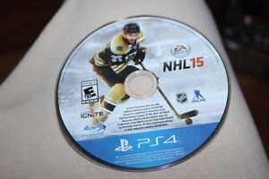 PS4 NHL 15 without case