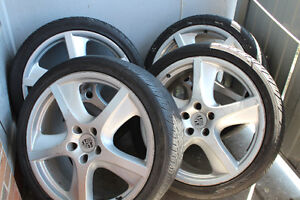 set of porsche rims for sale