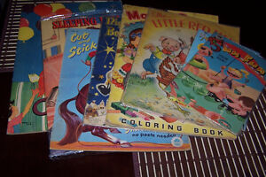 vintage colouring books for the collector