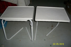 two folding tables $15.00 for both Cambridge Kitchener Area image 1