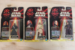 **AWESOME** Star Wars Episode I Figure Set, Commtech Chip
