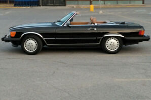 Mercedes 560 SL decapotable 1986 impecable