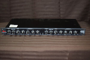 DBX 266XL Compressor Gate - 1U - 2 Channel Rack DSP