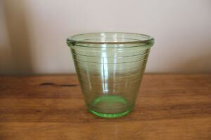 Vintage Green Depression Glass Measuring Cup London Ontario image 2