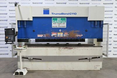 Trumpf Trumabend C110 121 Ton X 10 6-axis Cnc Press Brake