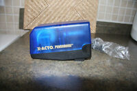 X-ACTO POWER HOUSE ELECTRIC PENCIL SHARPNER. NEW