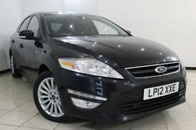 2012 12 FORD MONDEO 2.0 ZETEC BUSINESS EDITION TDCI 5DR 138 BHP DIESEL