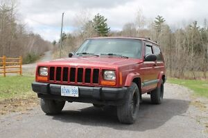 1999 Jeep Cherokee sport Coupe (5 speed) etested