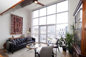 Seagram Loft for Rent!