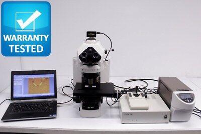 Nikon 80i Motorized Microscope Fluorescence Polarization Dic