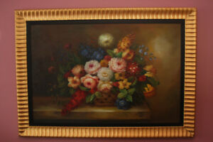 Oil Painting of Flowers ON SALE