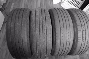 4 used Toyo open Country tires size 225 65R17