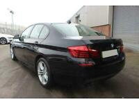 2016 BLACK BMW 520D 2.0 M SPORT DIESEL AUTO 4DR SALOON CAR FINANCE FR £241 PCM