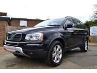 2011 VOLVO XC90 D5 SE LUX AWD AUTOMATIC 7 SEATER BLACK ESTATE DIESEL
