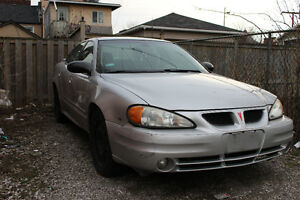 Pontiac Grand Am For Sale! As Is.