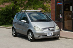 1998 Mercedes A160 - compact luxury vehicle - low km - Rare