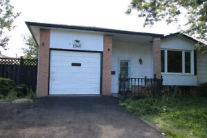 Three  Bedroom house including basement with One Car garage