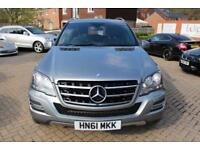 2011 61 MERCEDES-BENZ M CLASS 3.0 ML300 CDI BLUEEFFICIENCY GRAND EDITION 5D AUTO