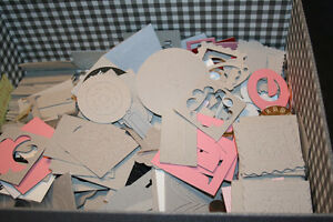 Assorted Chipboard shapes for scrapbooking Windsor Region Ontario image 6