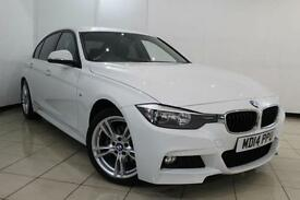 2014 14 BMW 3 SERIES 2.0 320D M SPORT 4DR 181 BHP DIESEL