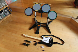 Ensemble complet pour Rock Band