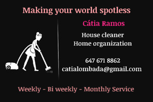 Cátia cleaning services