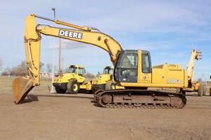 2006 John Deere 200C LC Excavator