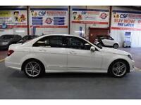 2013 13 MERCEDES-BENZ C CLASS 2.1 C250 CDI BLUEEFFICIENCY AMG SPORT 4D AUTO 202