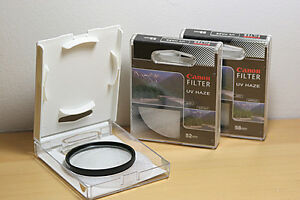 Canon lens filters