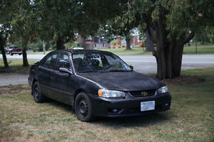 2002 Toyota Corolla - SAFETIED AND E-TESTED / REDUCED