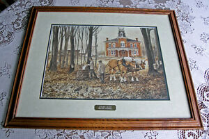 Sugar Bush-Walter Campbell (Framed and Double Matted)