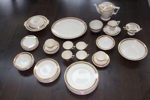 Beautiful Burleigh ( Zenith ) 1930 Dinner set