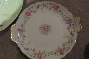 TEA CUPS/SAUCERS - 75 YEAR OLD PLATES
