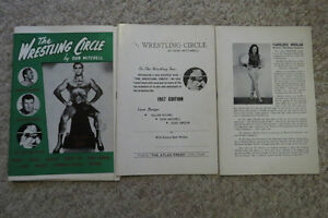Rare Wrestling Book For Sale. Locally Published $20 OBO London Ontario image 1