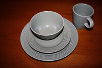 Two 16 Piece Dinnerware Sets