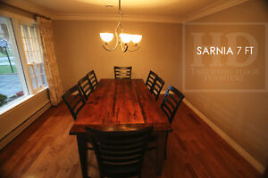 Barnwood Tables - Locally Made from Reclaimed Hemlock & Pine London Ontario image 2