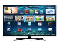 "SAMSUNG 40"" SMART HD 3D TV LED + SAMSUNG 3D BLU-RAY PLAYER + 2 3D GLASSES"