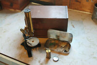Antique Microscope ; Bausch & Lomb