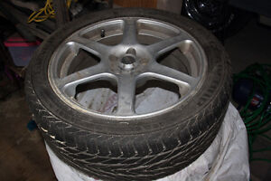 4 Lightly Used Summer Tires w/ Rims