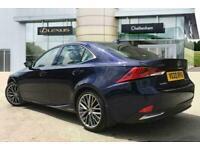 2020 Lexus IS SALOON 300h 4dr CVT Auto Saloon Petrol/Electric Hybrid Automatic