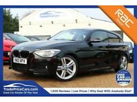 2013 13 BMW 1 SERIES 2.0 125D M SPORT 3D 215 BHP DIESEL