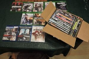 Selling Xbox One Games, Blu-Rays, DVD's and Books!