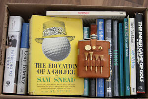 Golf book collection