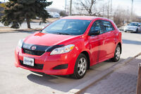 2010 Toyota Matrix - Certified and e-tested - Warranty available