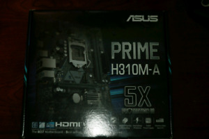 Asus PRIME motherboard H310M-A for 8th gen CPUs