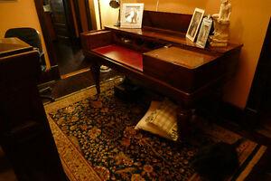 1837 Square Grand Piano turned into Secretaire