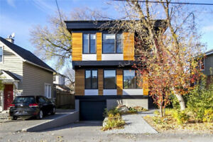 Westboro Modern Single Detached Home for Rent. Location! $3650