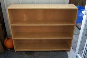Bookcase with back storage / 48' x 39'